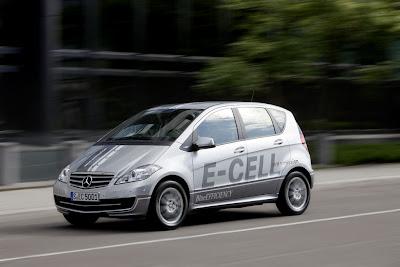 Mercedes-Benz A-Class E-CELL
